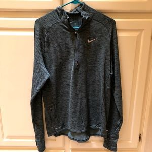 Heather Green Nike Running Jacket